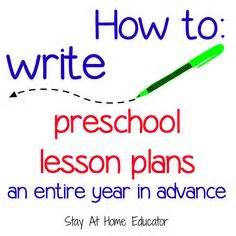 Lesson plans resume writing